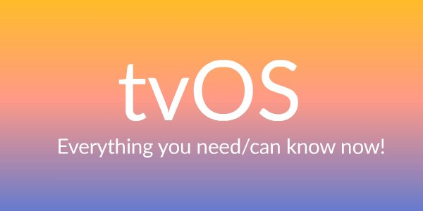tvOS video tutorials