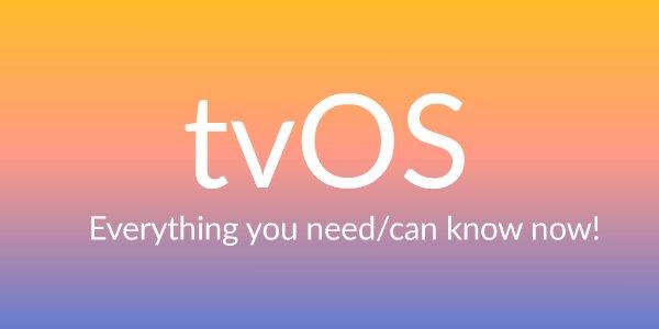 tvOS video tutorials