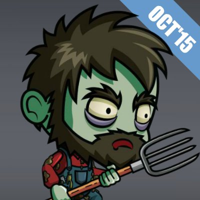 Royalty Free Game Art Zombie Character